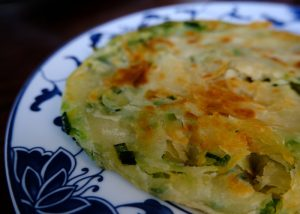 finished scallion pancake